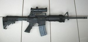 AR-15. Image by Wikimedia user Stag1500.