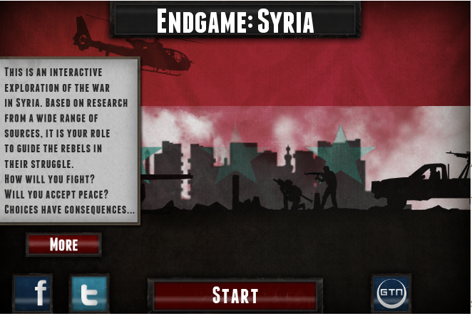 "Screencap from ""Endgame: Syria""."
