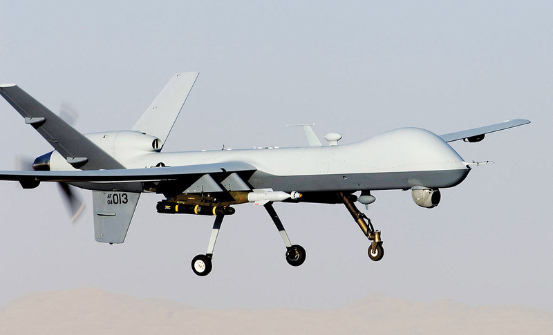 MQ-9 Reaper. USAF photo by Staff Sgt. Brian Ferguson