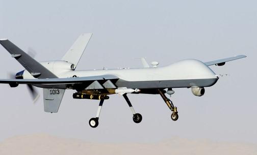 MQ-9 Reaper. USAF photo by Staff Sgt. Brian Ferguson