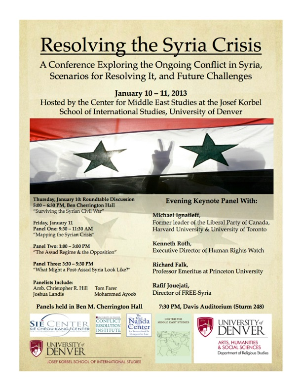Syria Conferencer Poster