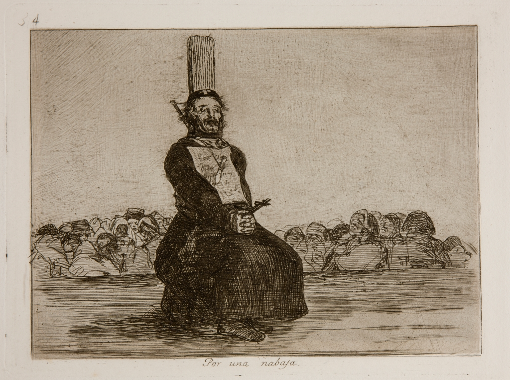 "Francisco Goya, from ""the Disasters of War"". Via Wikimedia."