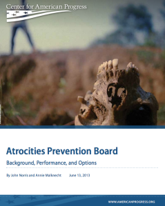The Atrocities Prevention Board Study Assistance Program