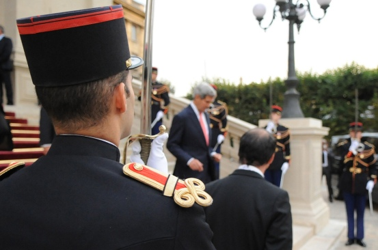 John Kerry in France on September 7, 2013. US State Department photo.