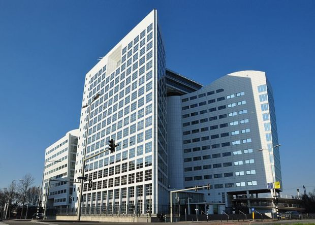 The International Criminal Court in The Hague. Photo by Wikimedia user Vincent van Zeijst.