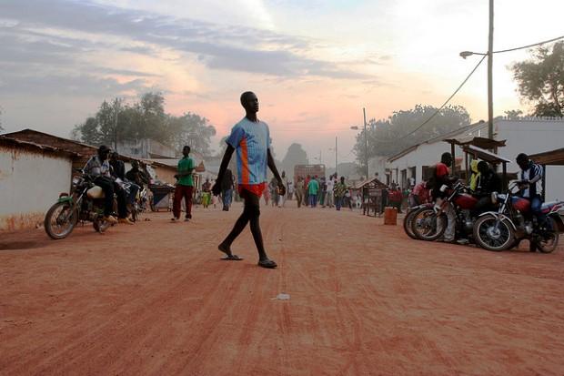 Central African Republic. 2009 UK DFID photo by Simon Davis.