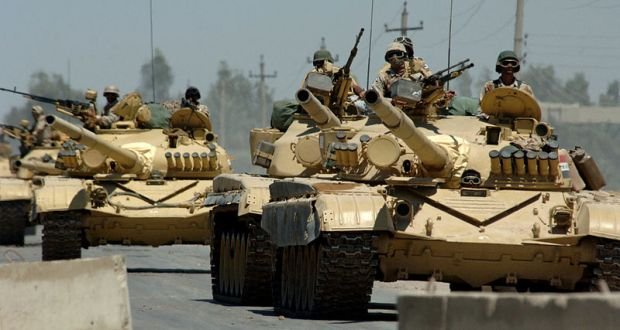 The Armed Forces of Iraq. 2006 US Navy photo by Michael Larson, via Wikimedia.