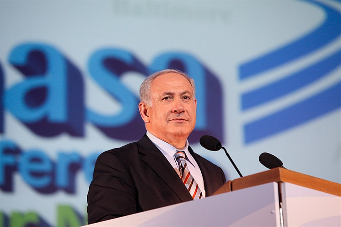 Israeli Prime Minister Benjamin Netanyahu. By Masa Israel Journey.