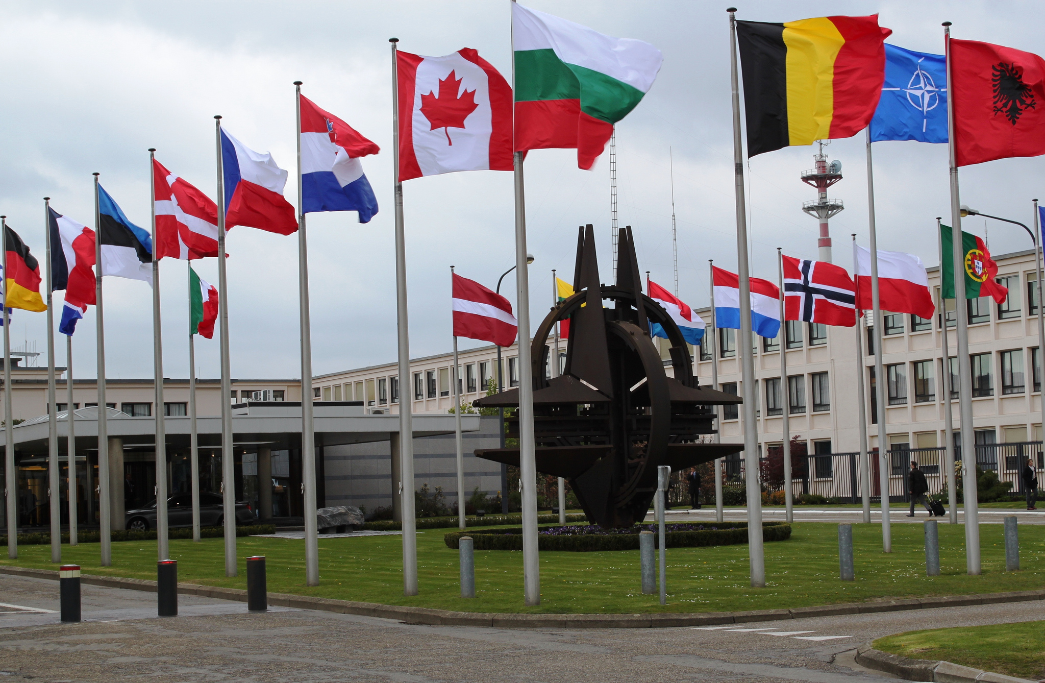 A view of NATO headquarters. Via Utenriksdepartementet UD.