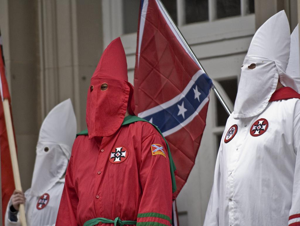 A KKK rally. By Martin.