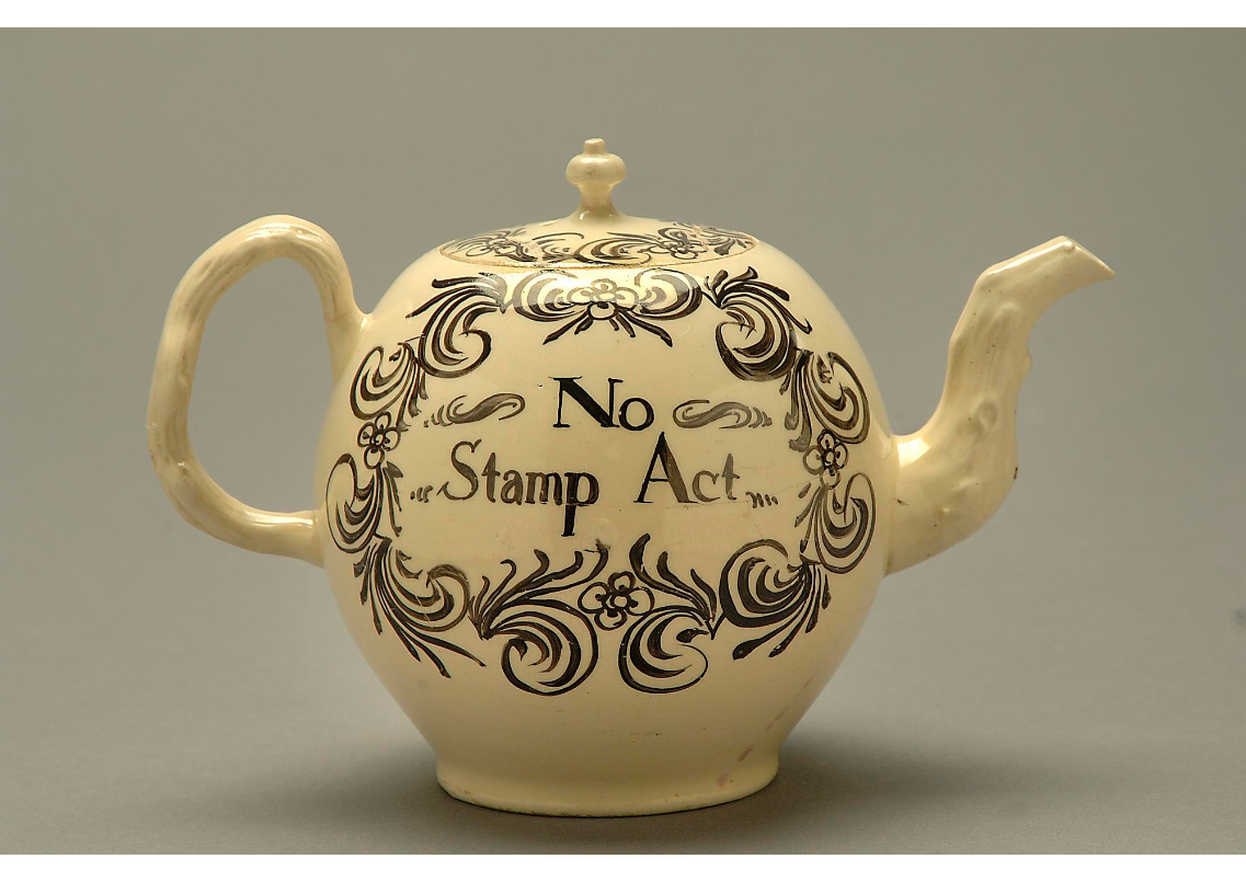 A teapot from shortly before the American Revolution. By the National Museum of American History.