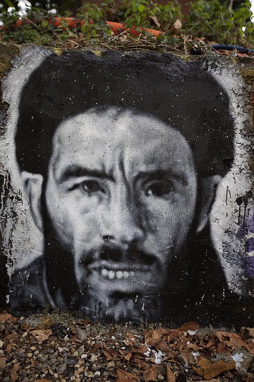 Mokhtar_Belmokhtar_graffiti