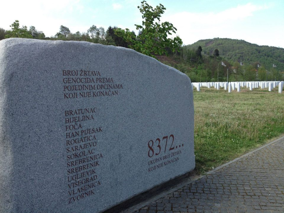 The Srebrenica-Potočari Memorial in Gornji Potočari, circa 2013. By Marie Berry.