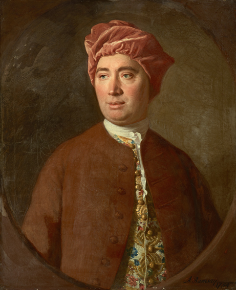 Portrait of David Hume (1711-1776). By Allan Ramsay.