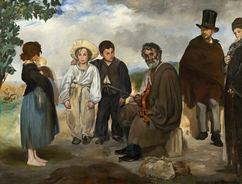 Edouard Manet (French, 1832 - 1883 ), The Old Musician, 1862, oil on canvas, Chester Dale Collection